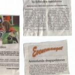 Wochenkurier + schwed. Tageszeitung vom 03.08.2009