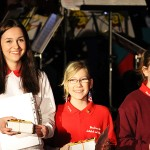10 Jahre Muikschule Fröhlich - Paulina, Lena, Sarina (v.l.n.r.)