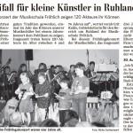 Lausitzer Rundschau vom 19.03.2012