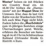 Lausitzer Rundschau vom 15.03.2012