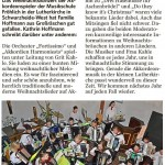 Lausitzer Rundschau vom 30.12.2015